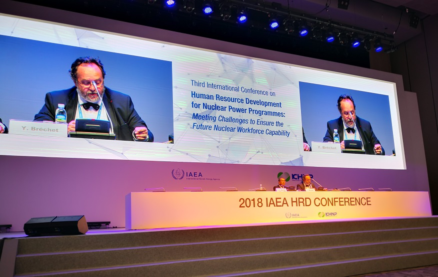 French High-commissioner for atomic energy@IAEA 2018 HRD Conference